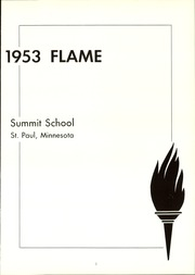 Page 5, 1953 Edition, Summit School - Flame Yearbook (St Paul, MN) online yearbook collection