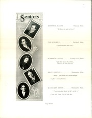 Page 16, 1910 Edition, University of Minnesota School of Agriculture - Yearbook (Minneapolis, MN) online yearbook collection