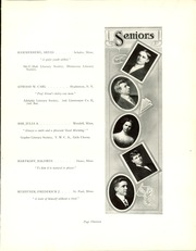 Page 17, 1910 Edition, University of Minnesota School of Agriculture - Yearbook (Minneapolis, MN) online yearbook collection