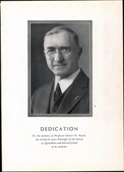Page 9, 1931 Edition, University of Minnesota School of Agriculture - Yearbook (Minneapolis, MN) online yearbook collection