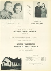 Page 101, 1951 Edition, Apostolic Bible Institute - Way Yearbook (St Paul, MN) online yearbook collection