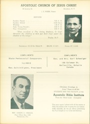 Page 104, 1951 Edition, Apostolic Bible Institute - Way Yearbook (St Paul, MN) online yearbook collection