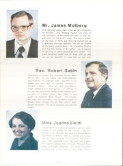Page 16, 1981 Edition, Apostolic Bible Institute - Way Yearbook (St Paul, MN) online yearbook collection