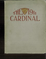 1911 Edition, East High School - Cardinal Yearbook (Minneapolis, MN)