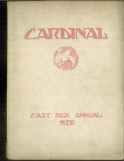 1920 Edition, East High School - Cardinal Yearbook (Minneapolis, MN)