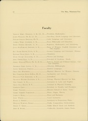Page 14, 1910 Edition, Macalester College - Quid Nunc Yearbook (St Paul, MN) online yearbook collection