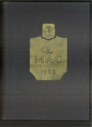 Page 1, 1926 Edition, Macalester College - Quid Nunc Yearbook (St Paul, MN) online yearbook collection