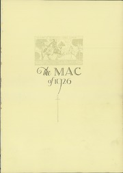 Page 5, 1926 Edition, Macalester College - Quid Nunc Yearbook (St Paul, MN) online yearbook collection
