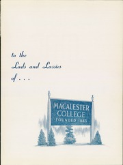 Page 5, 1942 Edition, Macalester College - Quid Nunc Yearbook (St Paul, MN) online yearbook collection