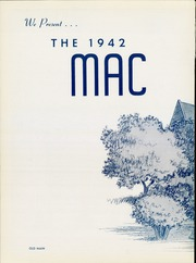Page 6, 1942 Edition, Macalester College - Quid Nunc Yearbook (St Paul, MN) online yearbook collection