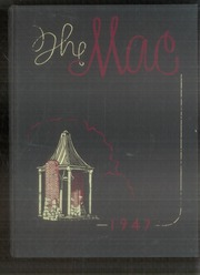 1947 Edition, Macalester College - Quid Nunc Yearbook (St Paul, MN)