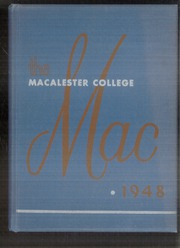 1948 Edition, Macalester College - Quid Nunc Yearbook (St Paul, MN)