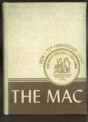 1949 Edition, Macalester College - Quid Nunc Yearbook (St Paul, MN)