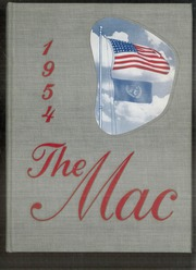1954 Edition, Macalester College - Quid Nunc Yearbook (St Paul, MN)
