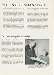 Page 13, 1954 Edition, Macalester College - Quid Nunc Yearbook (St Paul, MN) online yearbook collection