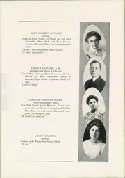 Page 15, 1911 Edition, Winona State Normal School - Wenonah Yearbook (Winona, MN) online yearbook collection