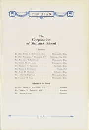 Page 17, 1925 Edition, Shattuck School - Shad Yearbook (Faribault, MN) online yearbook collection