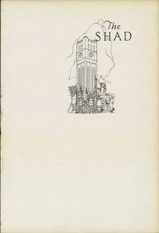 Page 5, 1925 Edition, Shattuck School - Shad Yearbook (Faribault, MN) online yearbook collection