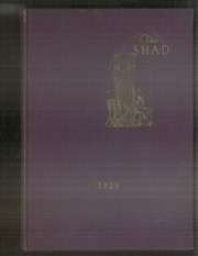 Page 1, 1929 Edition, Shattuck School - Shad Yearbook (Faribault, MN) online yearbook collection