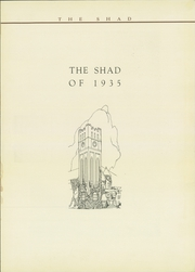 Page 5, 1935 Edition, Shattuck School - Shad Yearbook (Faribault, MN) online yearbook collection