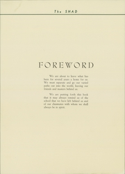 Page 10, 1936 Edition, Shattuck School - Shad Yearbook (Faribault, MN) online yearbook collection