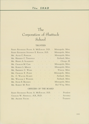 Page 15, 1936 Edition, Shattuck School - Shad Yearbook (Faribault, MN) online yearbook collection