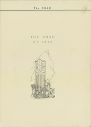 Page 5, 1936 Edition, Shattuck School - Shad Yearbook (Faribault, MN) online yearbook collection
