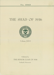 Page 7, 1936 Edition, Shattuck School - Shad Yearbook (Faribault, MN) online yearbook collection