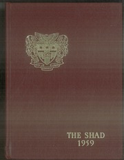 1959 Edition, Shattuck School - Shad Yearbook (Faribault, MN)