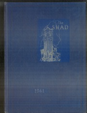 Page 1, 1961 Edition, Shattuck School - Shad Yearbook (Faribault, MN) online yearbook collection