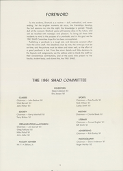 Page 9, 1961 Edition, Shattuck School - Shad Yearbook (Faribault, MN) online yearbook collection