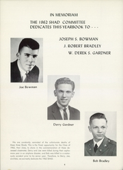 Page 10, 1962 Edition, Shattuck School - Shad Yearbook (Faribault, MN) online yearbook collection