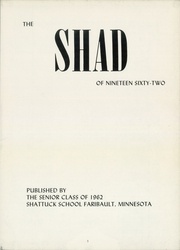 Page 7, 1962 Edition, Shattuck School - Shad Yearbook (Faribault, MN) online yearbook collection