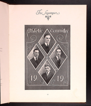 Page 15, 1919 Edition, St Johns University - Sagatagan Yearbook (Collegeville, MN) online yearbook collection