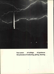 Page 10, 1969 Edition, Gustavus Adolphus College - Gustavian Yearbook (St Peter, MN) online yearbook collection