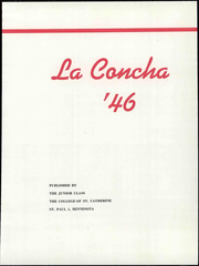 Page 7, 1946 Edition, College of St Catherine - La Concha Yearbook (St Paul, MN) online yearbook collection