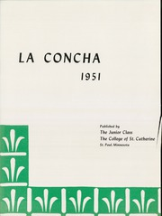 Page 6, 1951 Edition, College of St Catherine - La Concha Yearbook (St Paul, MN) online yearbook collection