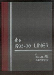 Hamline University - Liner Yearbook (St Paul, MN) online yearbook collection, 1936 Edition, Page 1