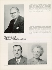 Page 12, 1952 Edition, Hamline University - Liner Yearbook (St Paul, MN) online yearbook collection