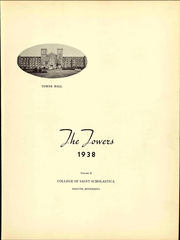 Page 9, 1938 Edition, College of St Scholastica - Towers Yearbook (Duluth, MN) online yearbook collection