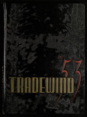 Page 1, 1953 Edition, Minneapolis Vocational High School - Tradewind Yearbook (Minneapolis, MN) online yearbook collection