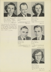 Page 13, 1952 Edition, St Paul Bible College - Shield Yearbook (St Paul, MN) online yearbook collection