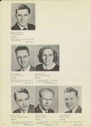 Page 16, 1952 Edition, St Paul Bible College - Shield Yearbook (St Paul, MN) online yearbook collection