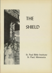 Page 5, 1952 Edition, St Paul Bible College - Shield Yearbook (St Paul, MN) online yearbook collection