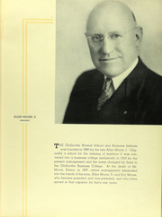 Page 15, 1937 Edition, Chillicothe Business College - Dux Yearbook (Chillicothe, MO) online yearbook collection