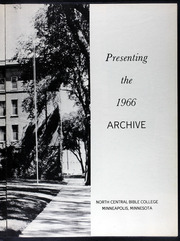 Page 7, 1966 Edition, North Central University - Archive Yearbook (Minneapolis, MN) online yearbook collection