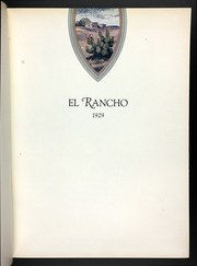Page 7, 1929 Edition, Texas A and M University - El Rancho Yearbook (Kingsville, TX) online yearbook collection