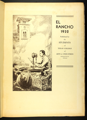 Page 5, 1932 Edition, Texas A and M University - El Rancho Yearbook (Kingsville, TX) online yearbook collection