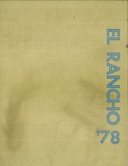 1978 Edition, Texas A and M University - El Rancho Yearbook (Kingsville, TX)