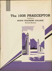 Page 9, 1935 Edition, Minnesota State University Moorhead - Praeceptor Yearbook (Moorhead, MN) online yearbook collection